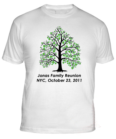 family reunion t shirts