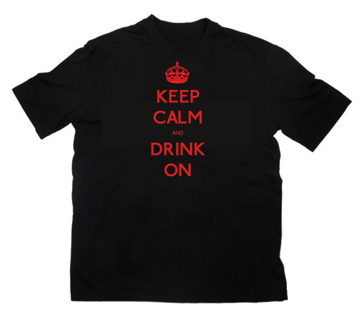 Custom printed t shirts for your bar restaurant for Custom tee shirt printing